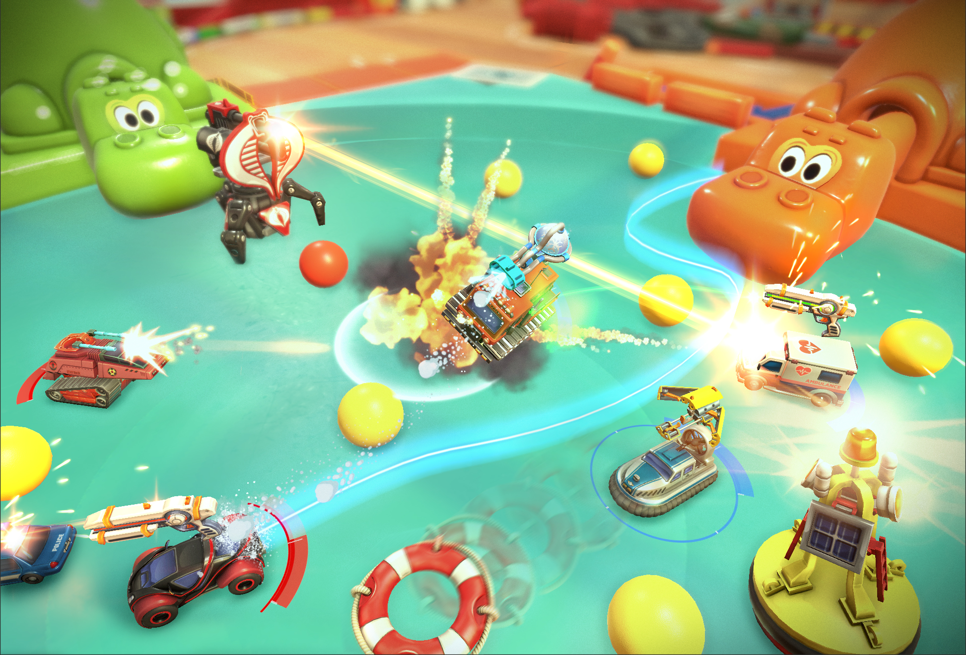 Micro Machines: World Series Hands-On Preview - How Has This Classic ...