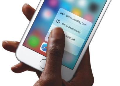 iPhone 8 new 3D Touch
