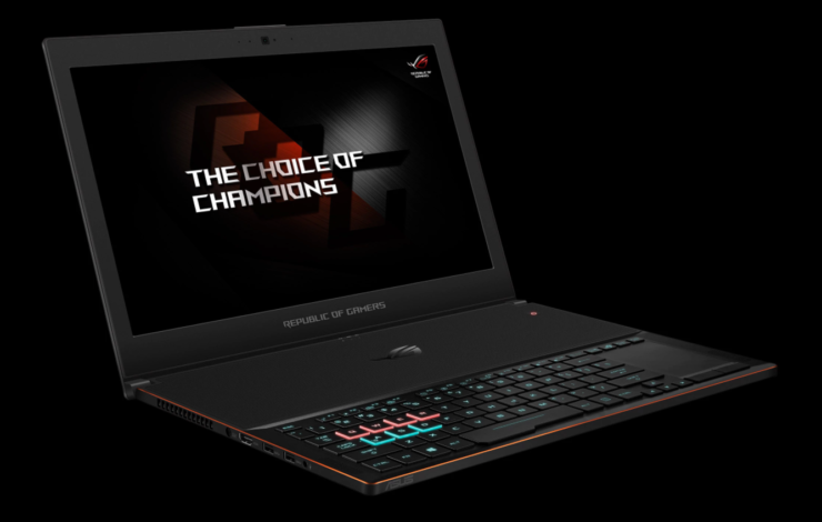 ASUS ROG ZEPHRYUS GX501 ultra slim gaming laptop