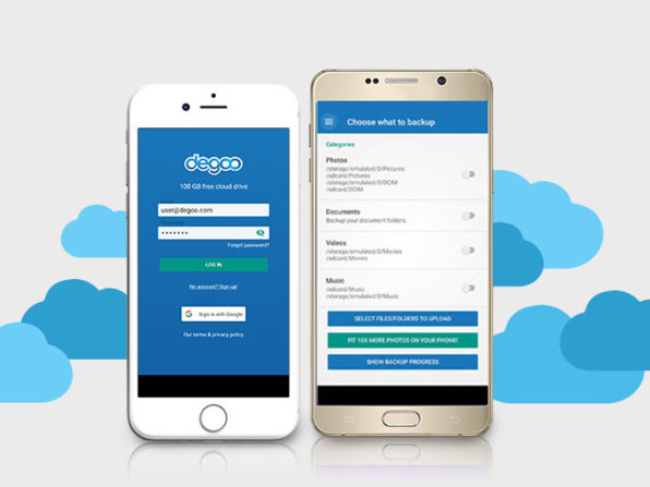 Degoo Premium Lifetime 2TB Backup Plan