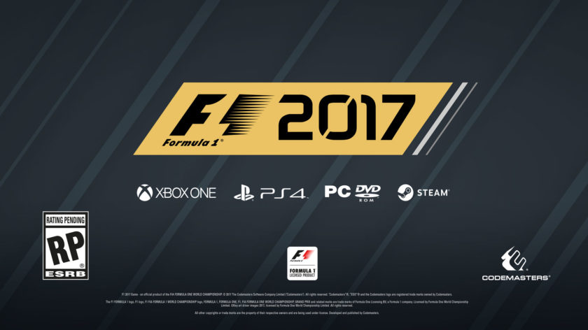 codemasters announces f1 2017 for pc ps4 xo return of classic f1 cars deep career mode more. Black Bedroom Furniture Sets. Home Design Ideas