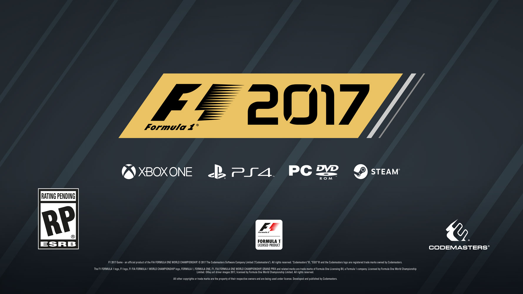 codemasters announces f1 2017 for pc ps4 xo return of. Black Bedroom Furniture Sets. Home Design Ideas