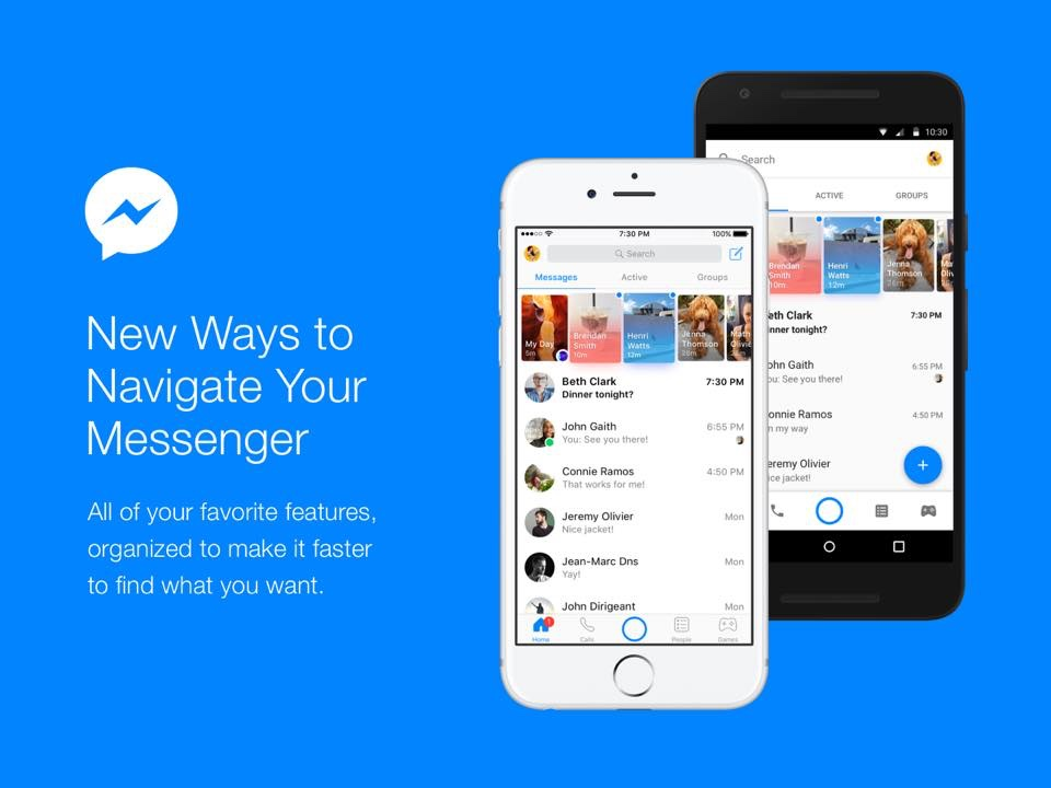 Facebook Messenger is Getting a Redesign with Strict Focus ...