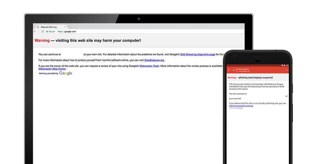 Gmail Safe Browsing
