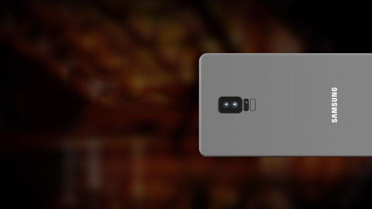 Galaxy Note 8 dual camera