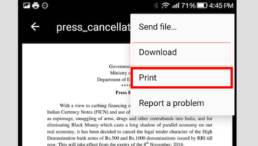 How to Print from Your Android Phone or Tablet Using Google Cloud Print