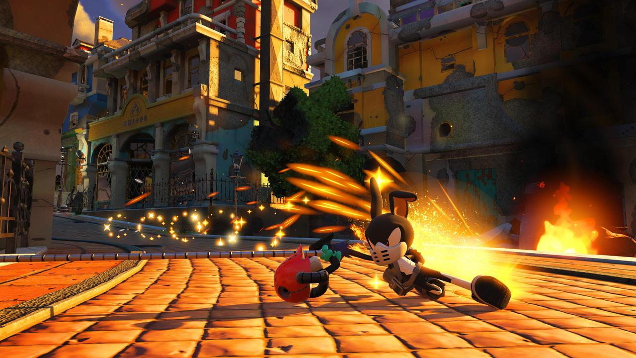 sonic forces hands on switch preview thoroughly forced