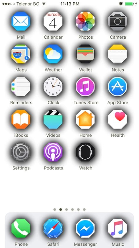 Change icon shape iphone : Sphtx coin address guide
