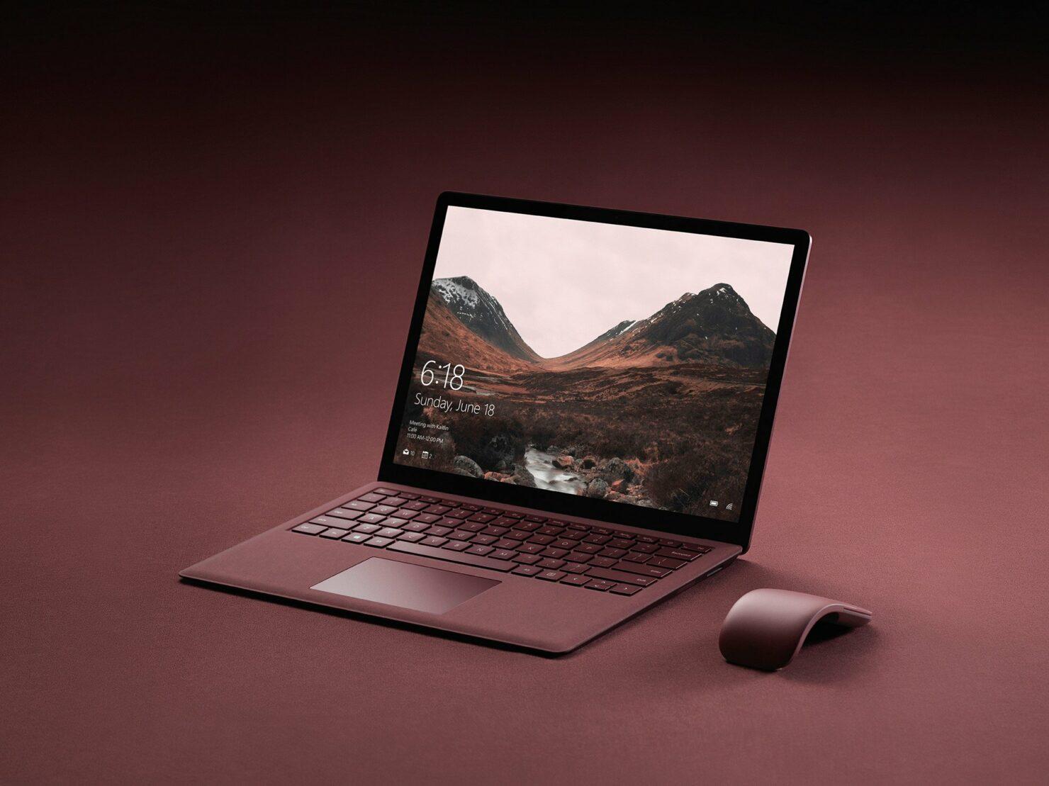 Surface Laptop 3 windows 10 Fall Creators Update