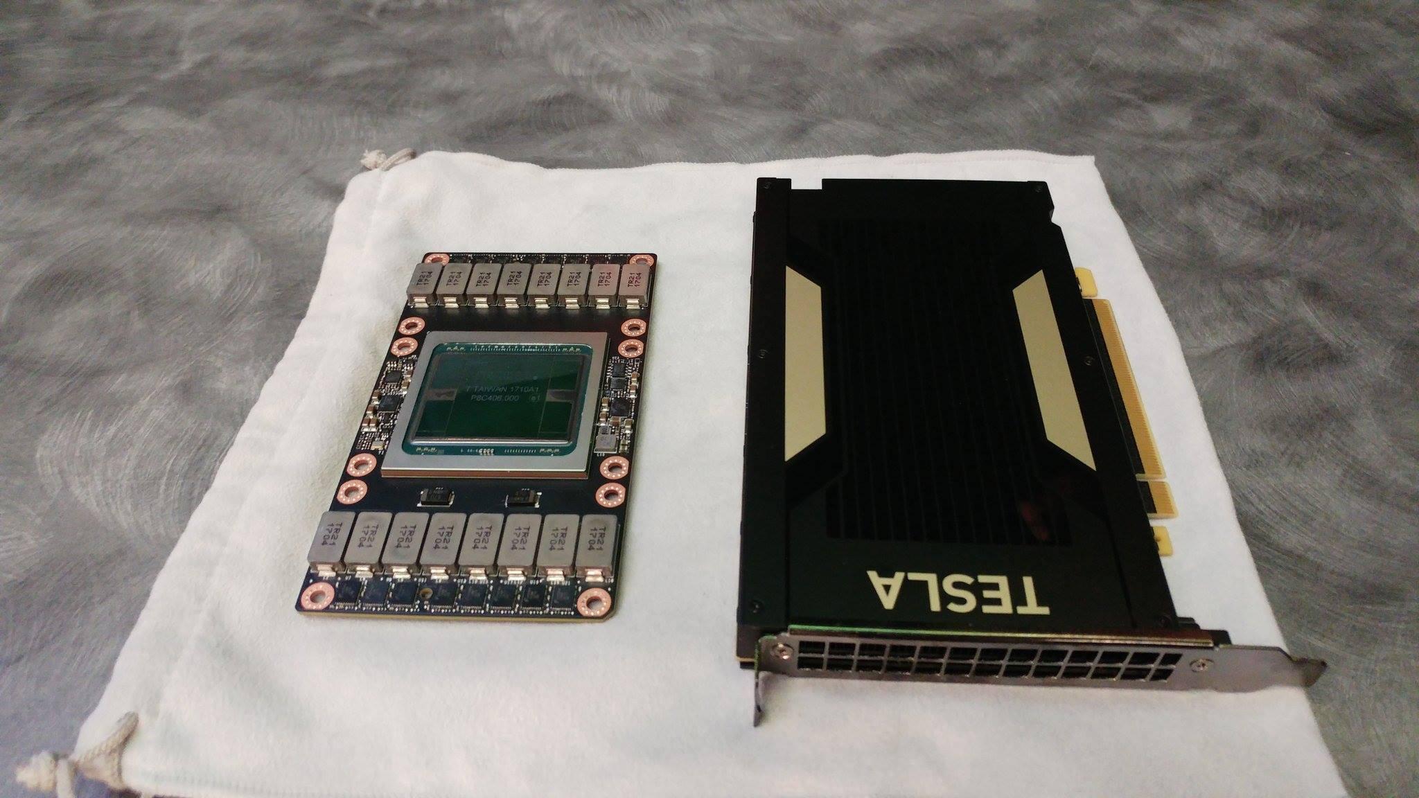 Nvidia Volta Tesla V100 Cards Detailed 150w Single Slot
