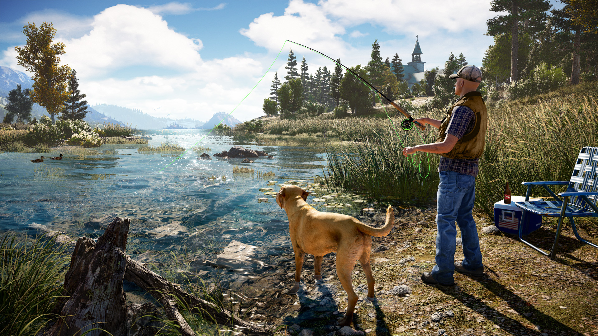 Far Cry 5 Hands-On: Guns, God, and Fields of Green @ E3 2017