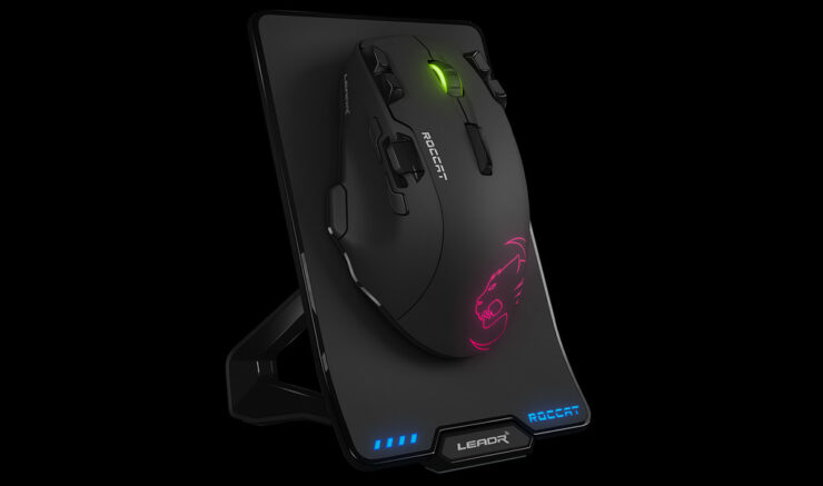 ROCCAT LEADR wireless gaming mouse