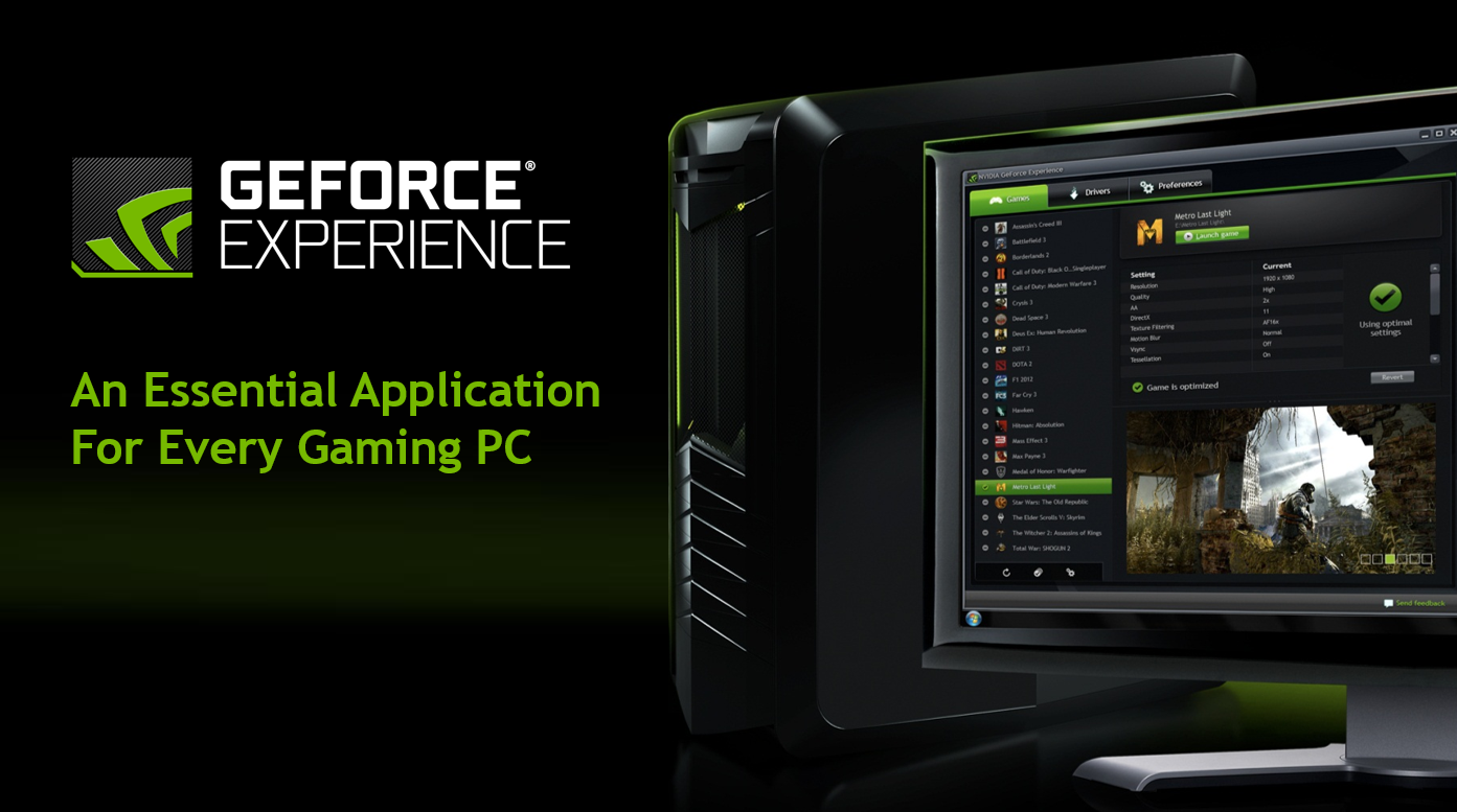 Nvidia Updates Geforce Experience With Vulkan Amp Opengl Support