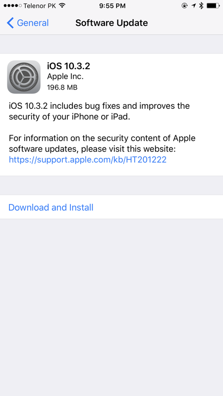 Download iOS 10.3.2