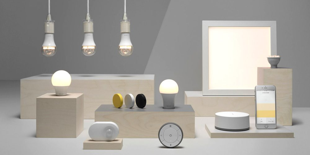 ikea smart home lighting to get support for alexa siri google assistant. Black Bedroom Furniture Sets. Home Design Ideas