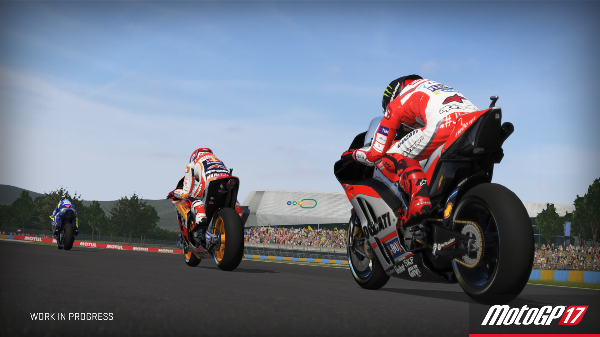 MotoGP 17 Reveals Brand New Managerial Career Mode and New Gameplay Footage
