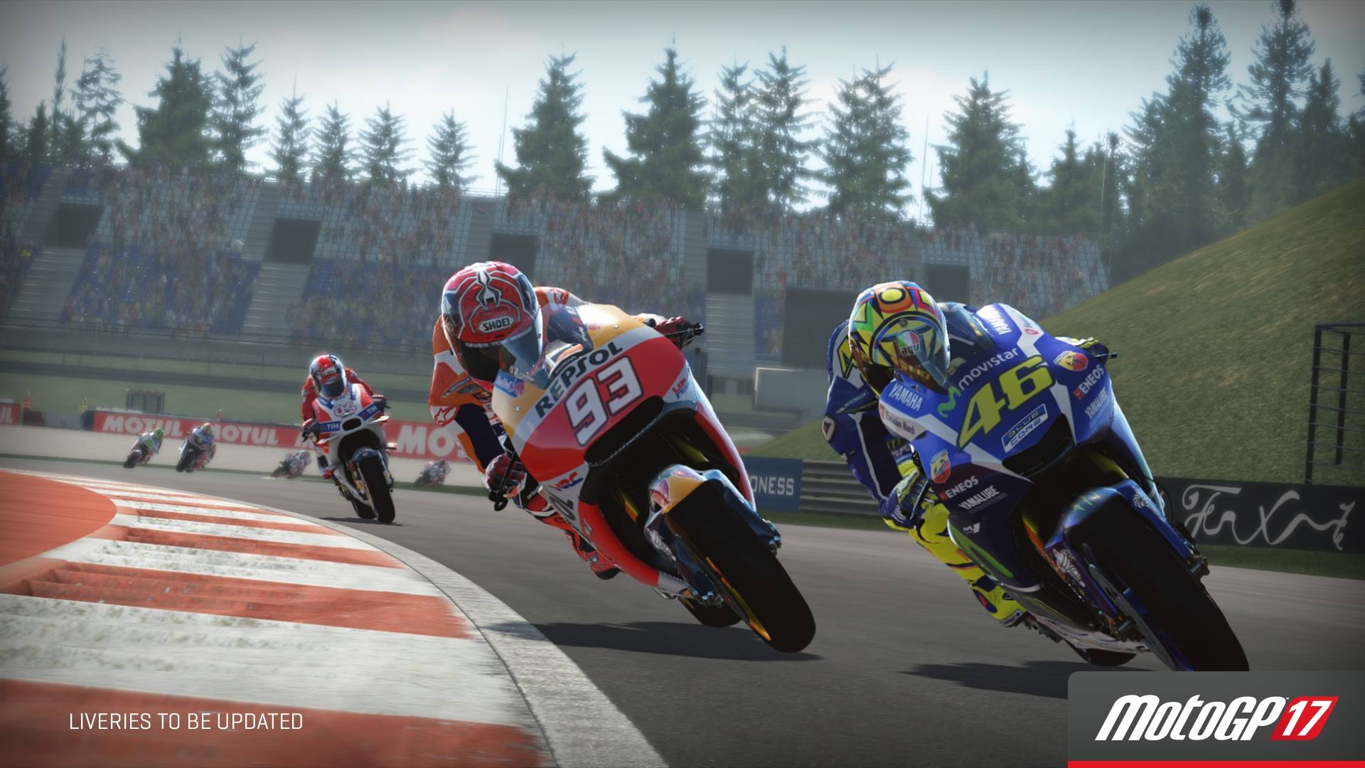 MotoGP 17 Runs at 1440P@60FPS on PS4 Pro, Though There's No Downsampling on HDTVs