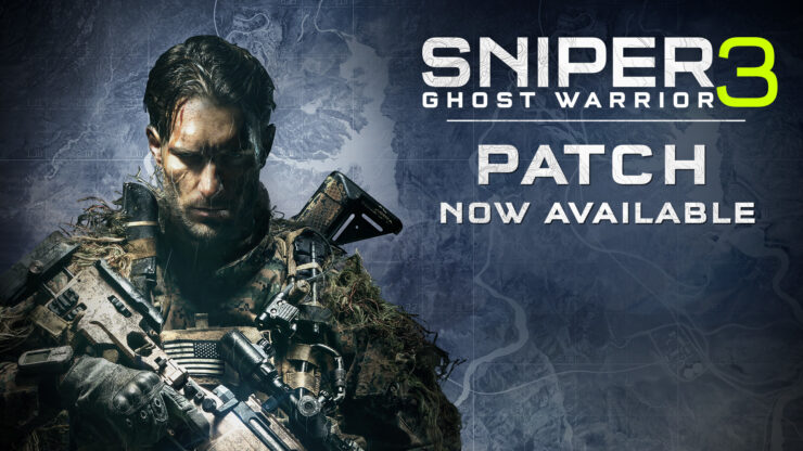sniper ghost warrior 3 pc patch 1.2