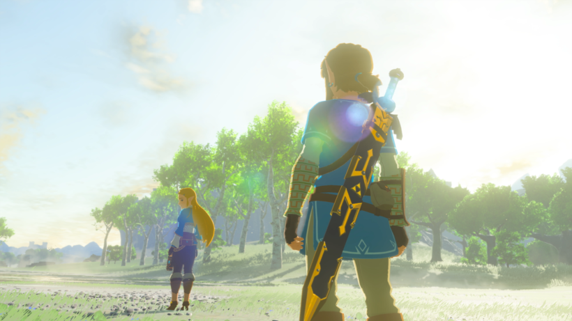 Knightly Arms [The Legend of Zelda: Breath of the Wild