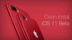 Clean Install iOS 11 Beta
