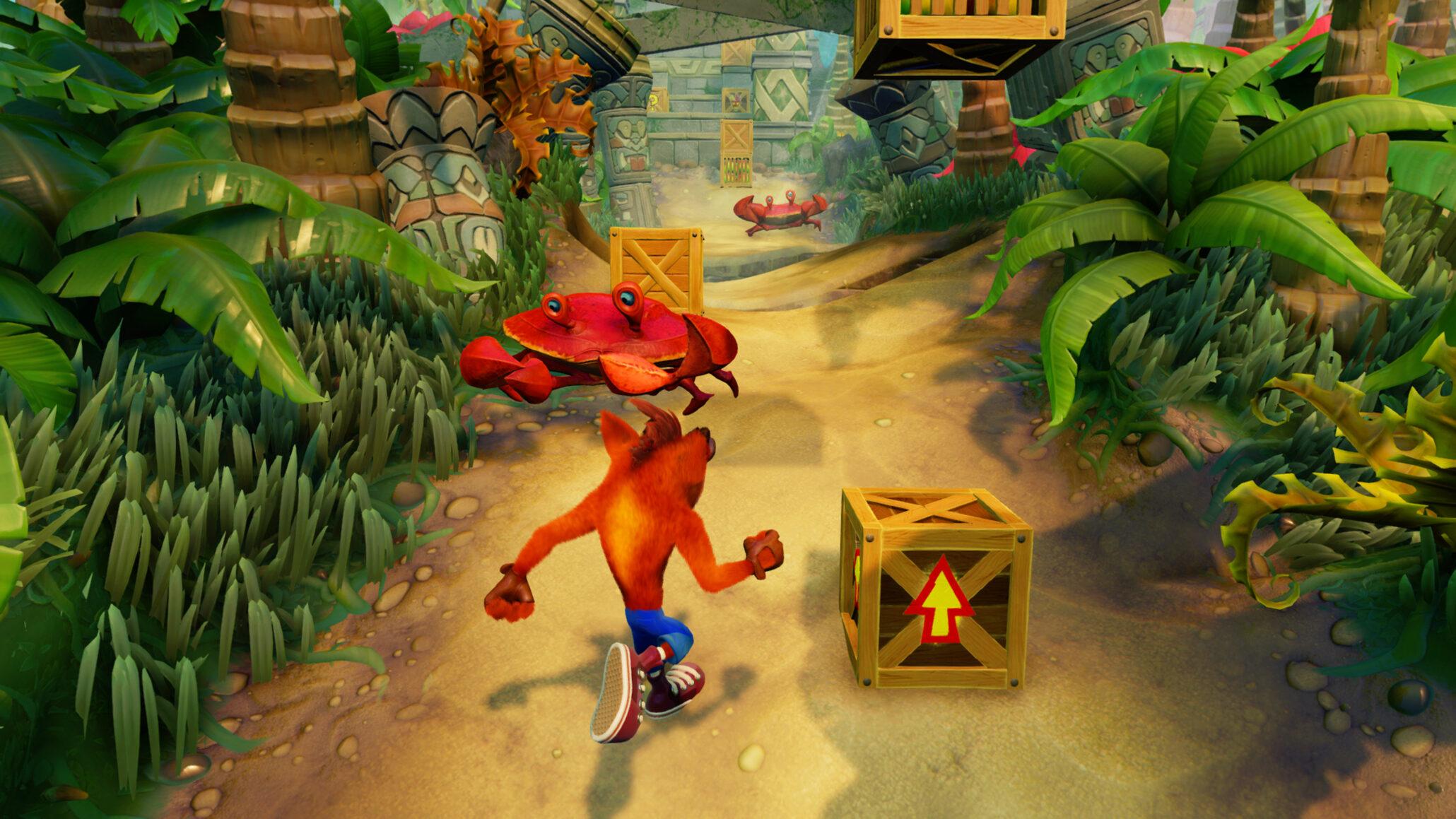 Crash Bandicoot N Sane Trilogy Runs at 1440P@30FPS on PS4 Pro
