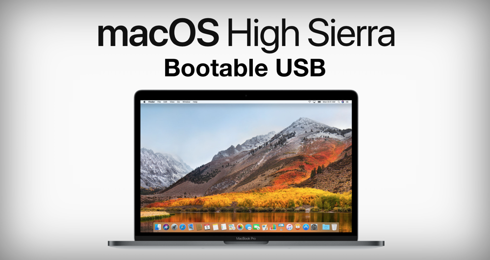 Make a bootable usb for mac os high sierra | How to Create macOS