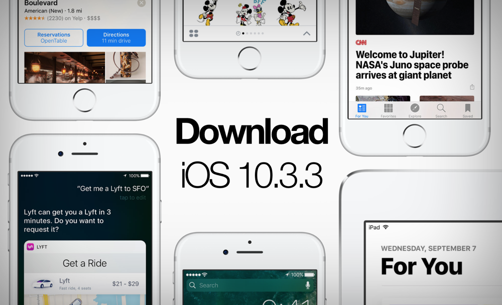 Download iOS 10 3 3 Software Update for iPhone & iPad