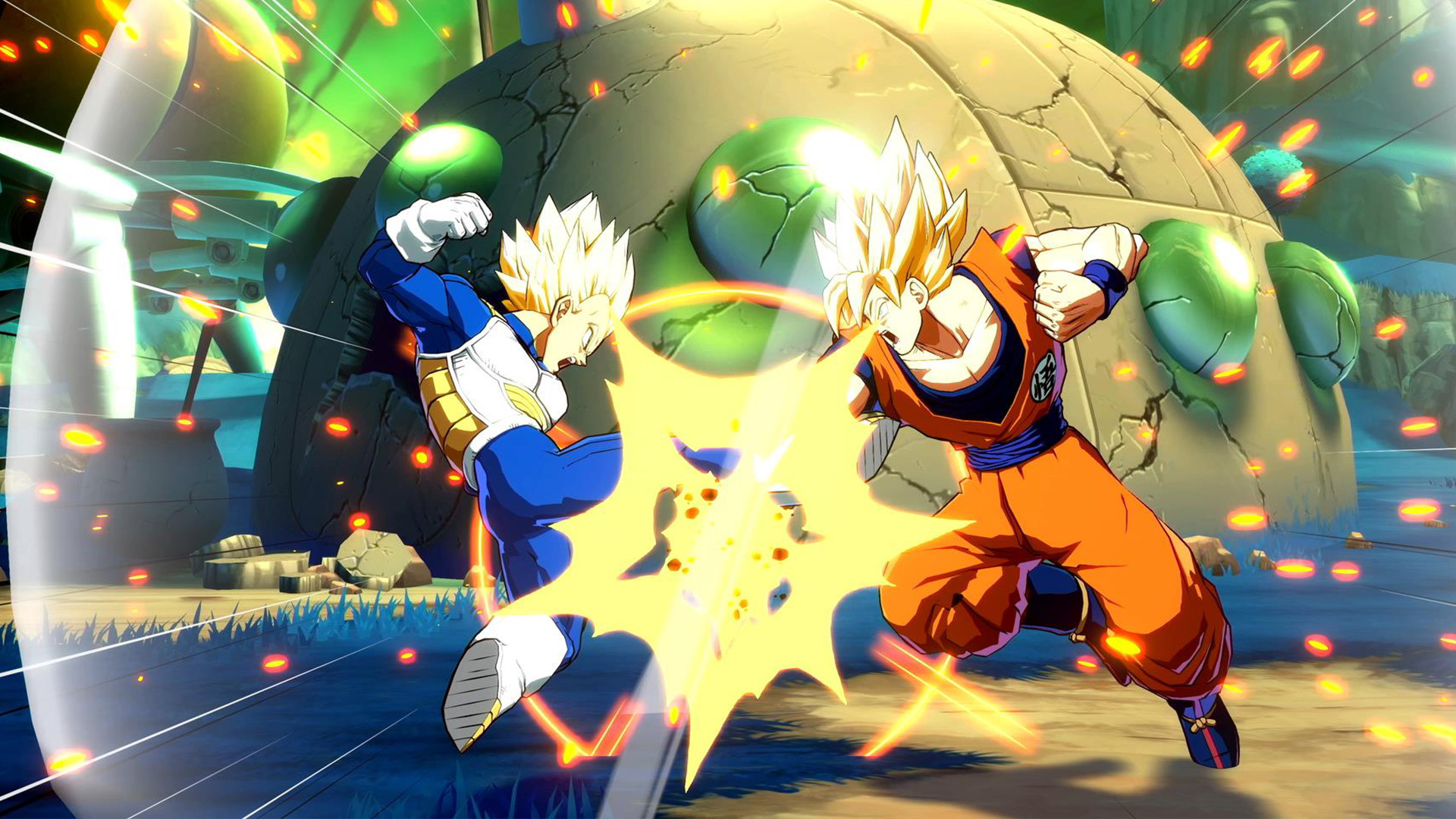 Dragon Ball Fighter Z New Gameplay Videos Showcase Intense Matches Between Heroes And Villains
