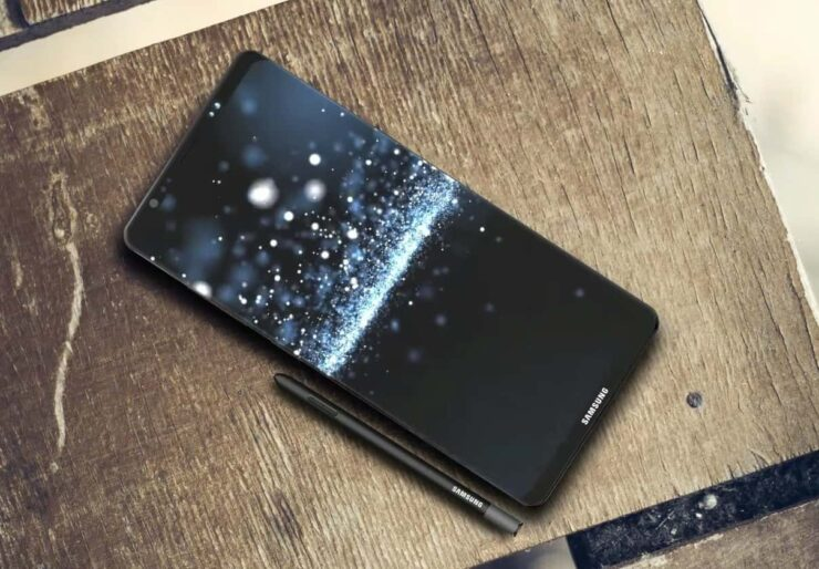 Galaxy Note 8 two storage models