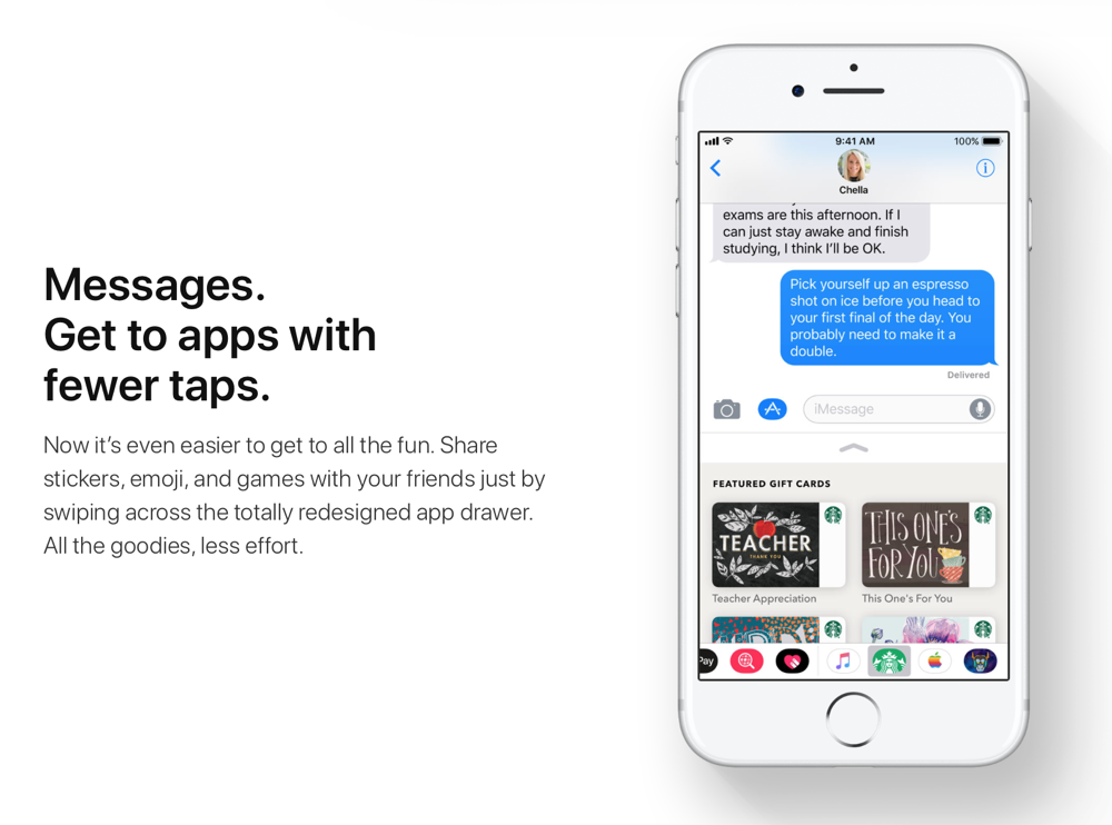 Image result for ios 11 messages feature