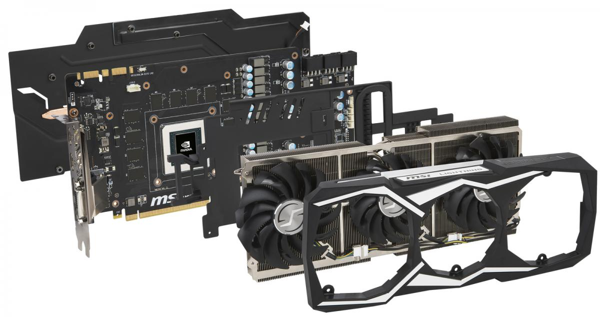 msi unleashes the blistering fast gtx 1080 ti lightning z graphics card. Black Bedroom Furniture Sets. Home Design Ideas