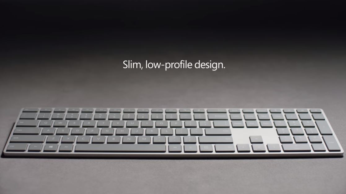 Microsoft 39 s new modern keyboard has an integrated for Moderni piani a 4 piani