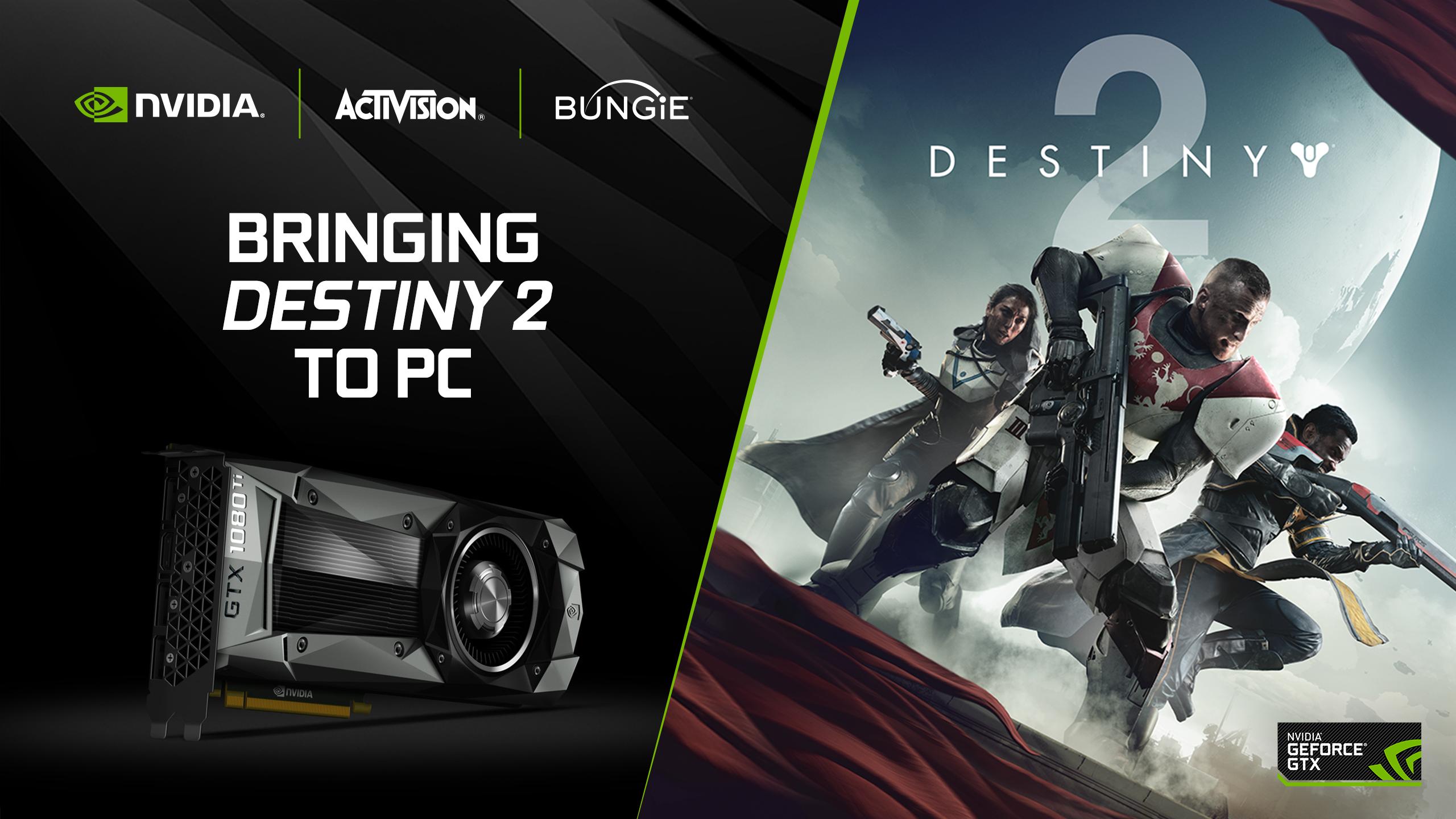 Nvidia Announces Destiny 2 Geforce Bundle With Gtx 1080 Ti