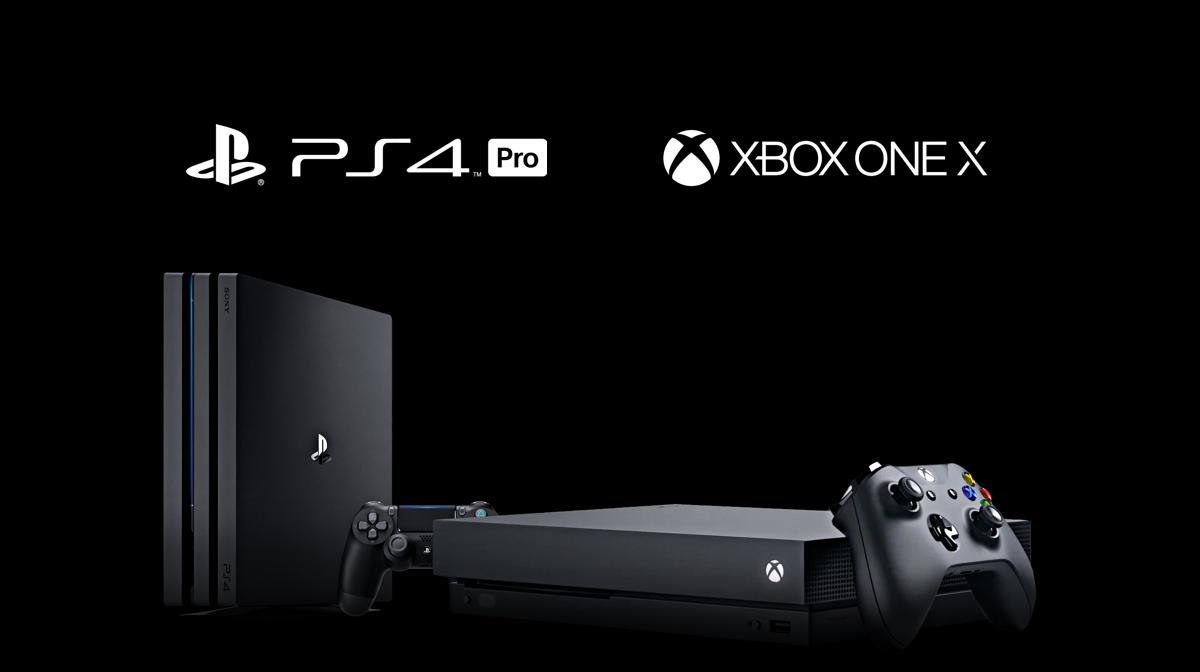 PS4 Pro Xbox One X AMD