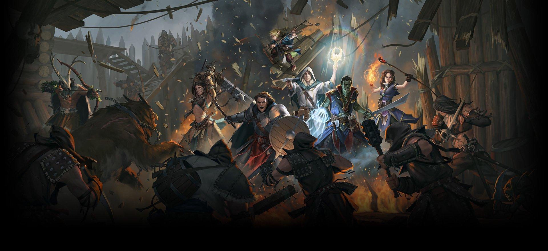 Resultado de imagen para Pathfinder: Kingmaker