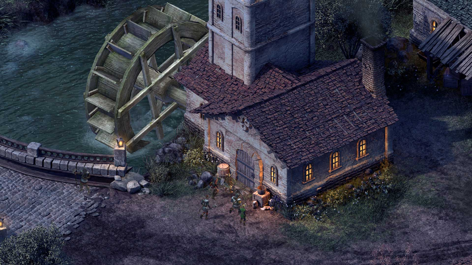 Pillars Of Eternity Wallpaper: Pillars Of Eternity And Cities: Skylines Launching On