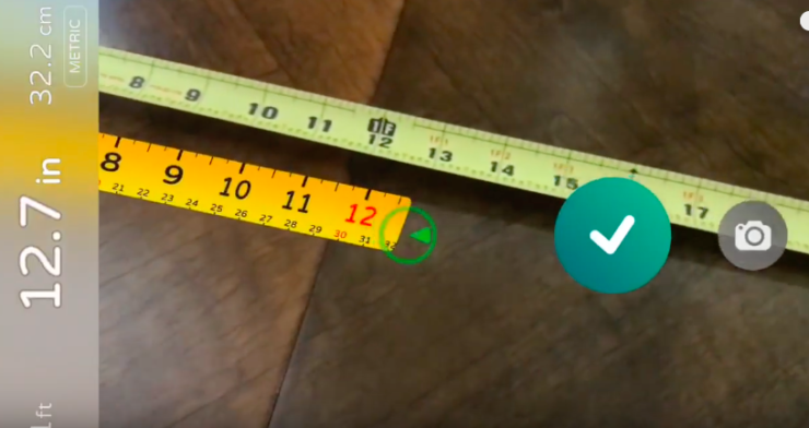 Measurement app ARKit