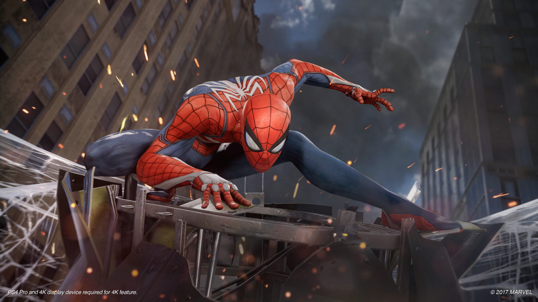 Insomniacs Spider Man Showcased In Glorious 4k Gameplay