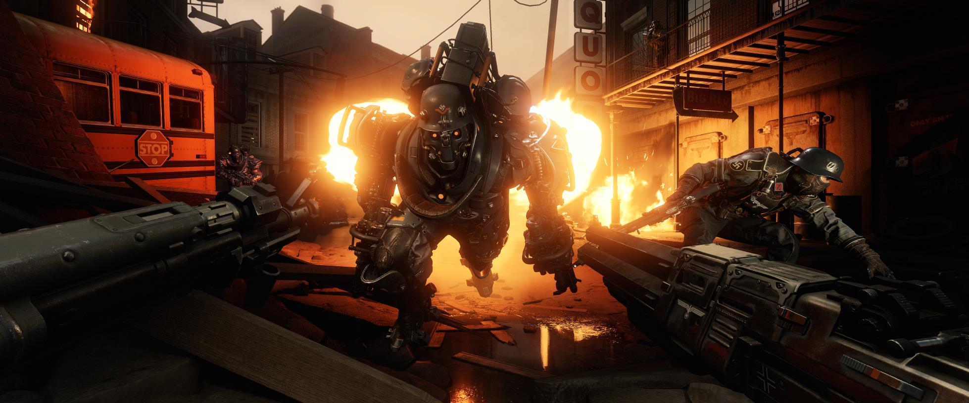 Image result for wolfenstein 2 colossus gameplay