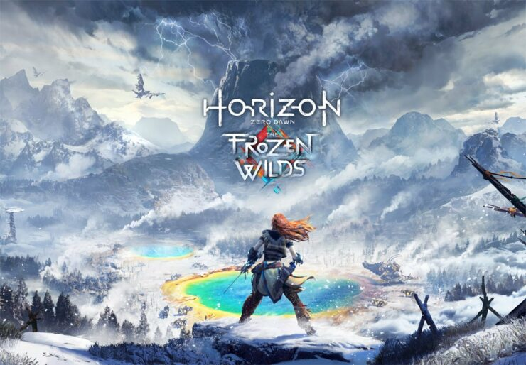 Horizon Zero Dawn Patch 1.40 Frozen Wilds DLC