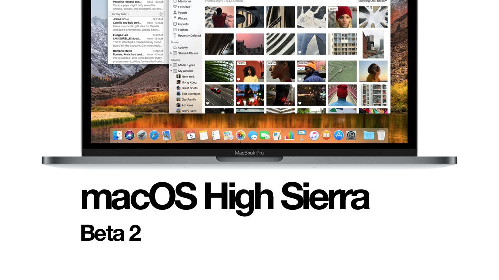 macOS High Sierra Beta 2