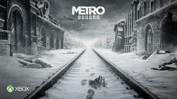 metro exodus 4K hdr xbox one x