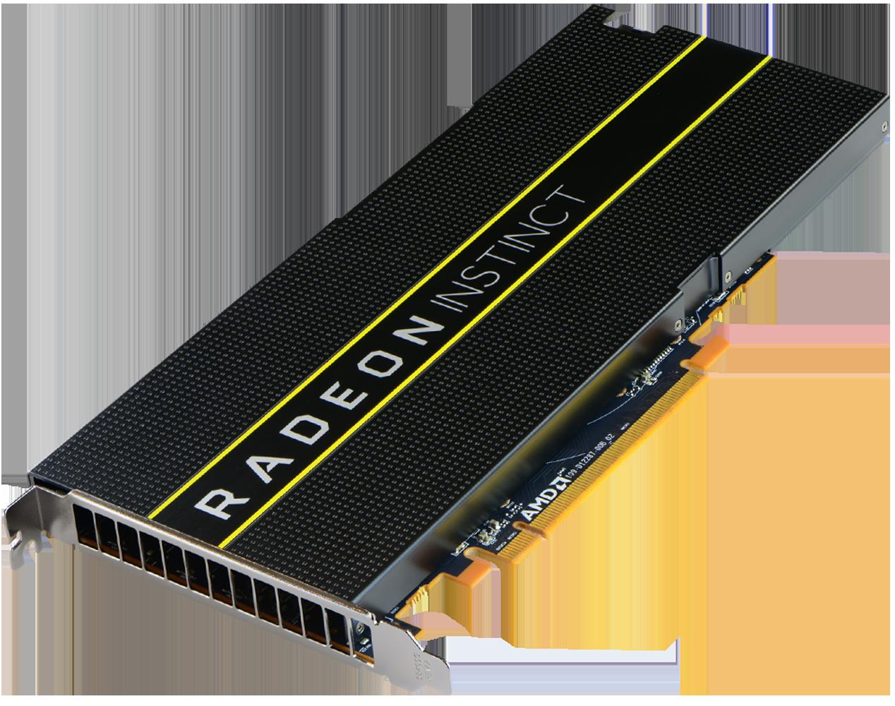 AMD Launches Vega GPU Based Radeon Instinct MI25 AI Accelerator