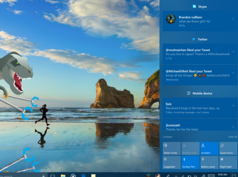 Windows 10 Creators Fall Update