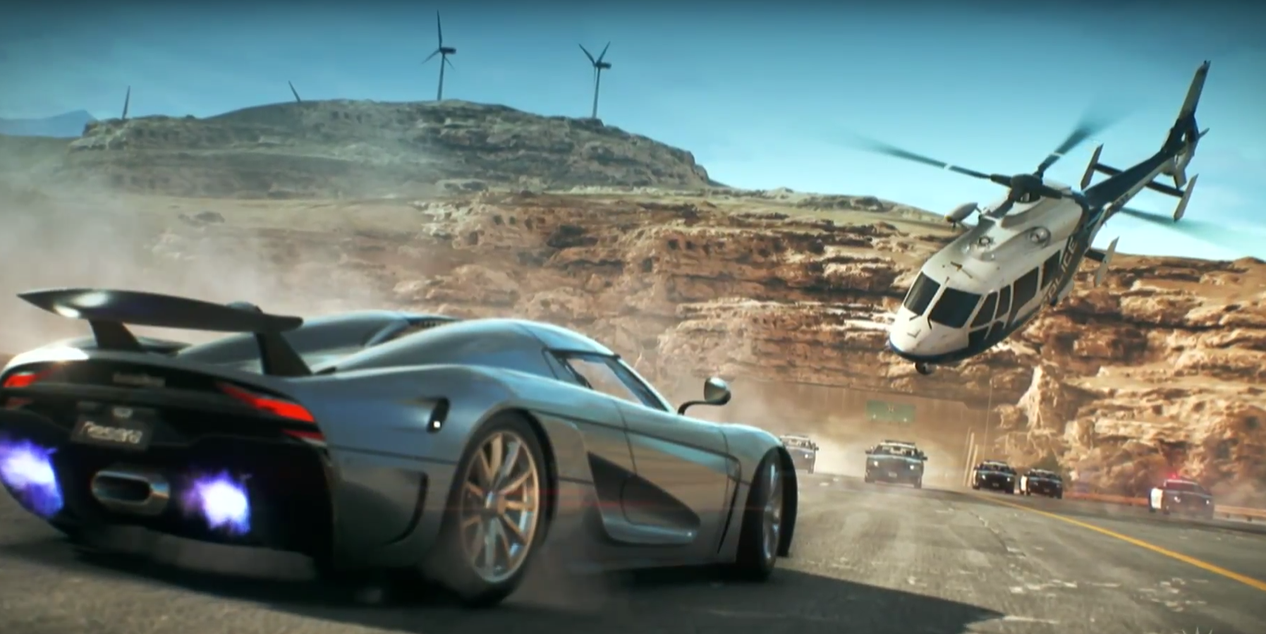 Need For Speed Payback Gets New E3 Highway Heist
