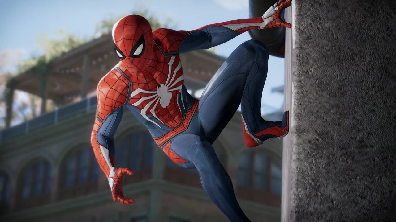 Insomniac spider man ps4 has a big cast filled with lots for Virtual suit builder