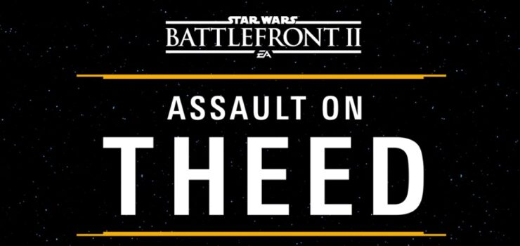 star wars battlefront II gameplay theed