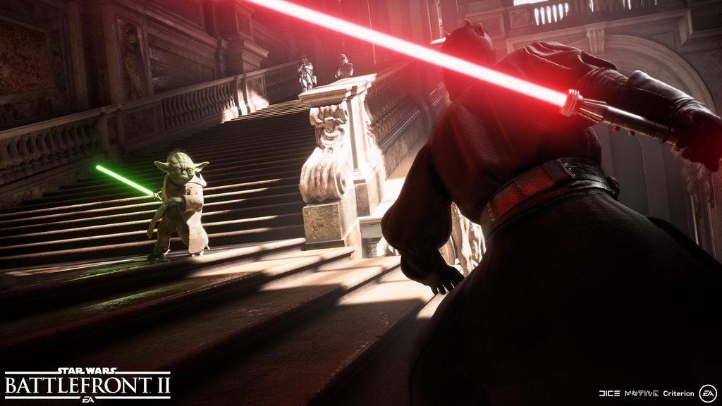 star wars battlefront II screen