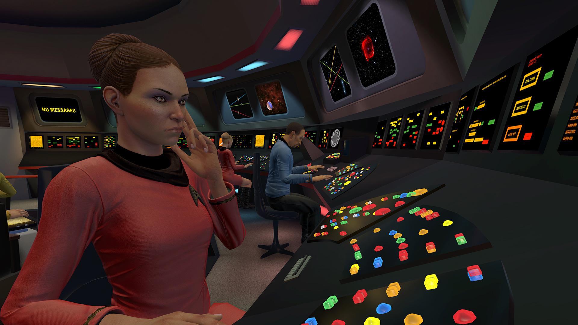 Star Trek Bridge Crew Review Boldly Go Where No Vr Has