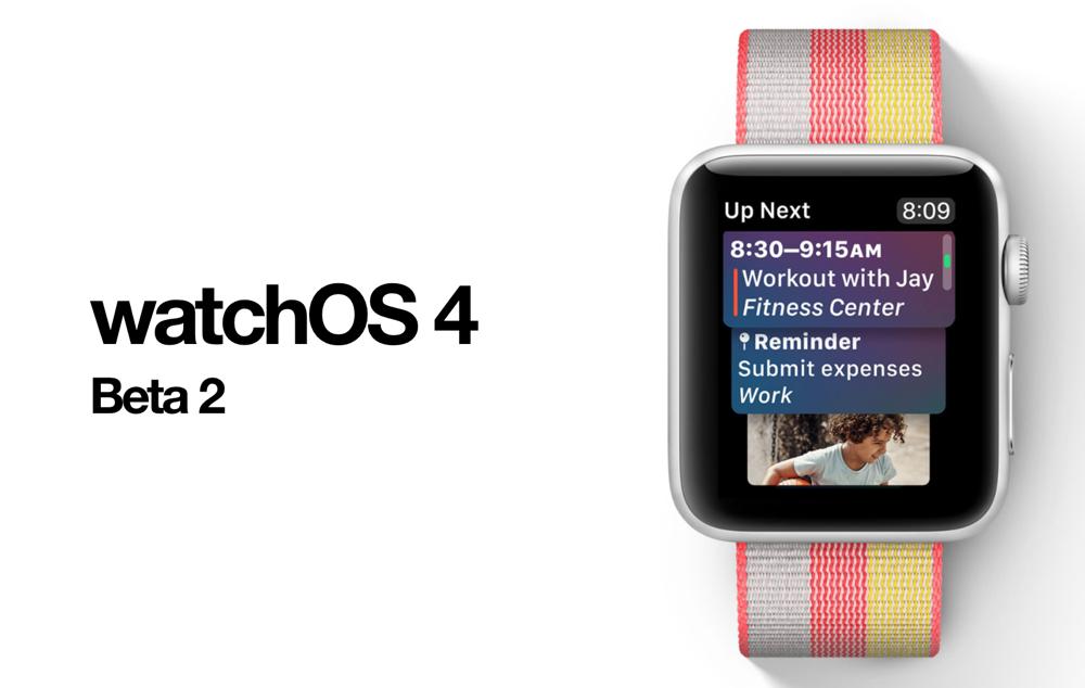 watchOS 4 Beta 2